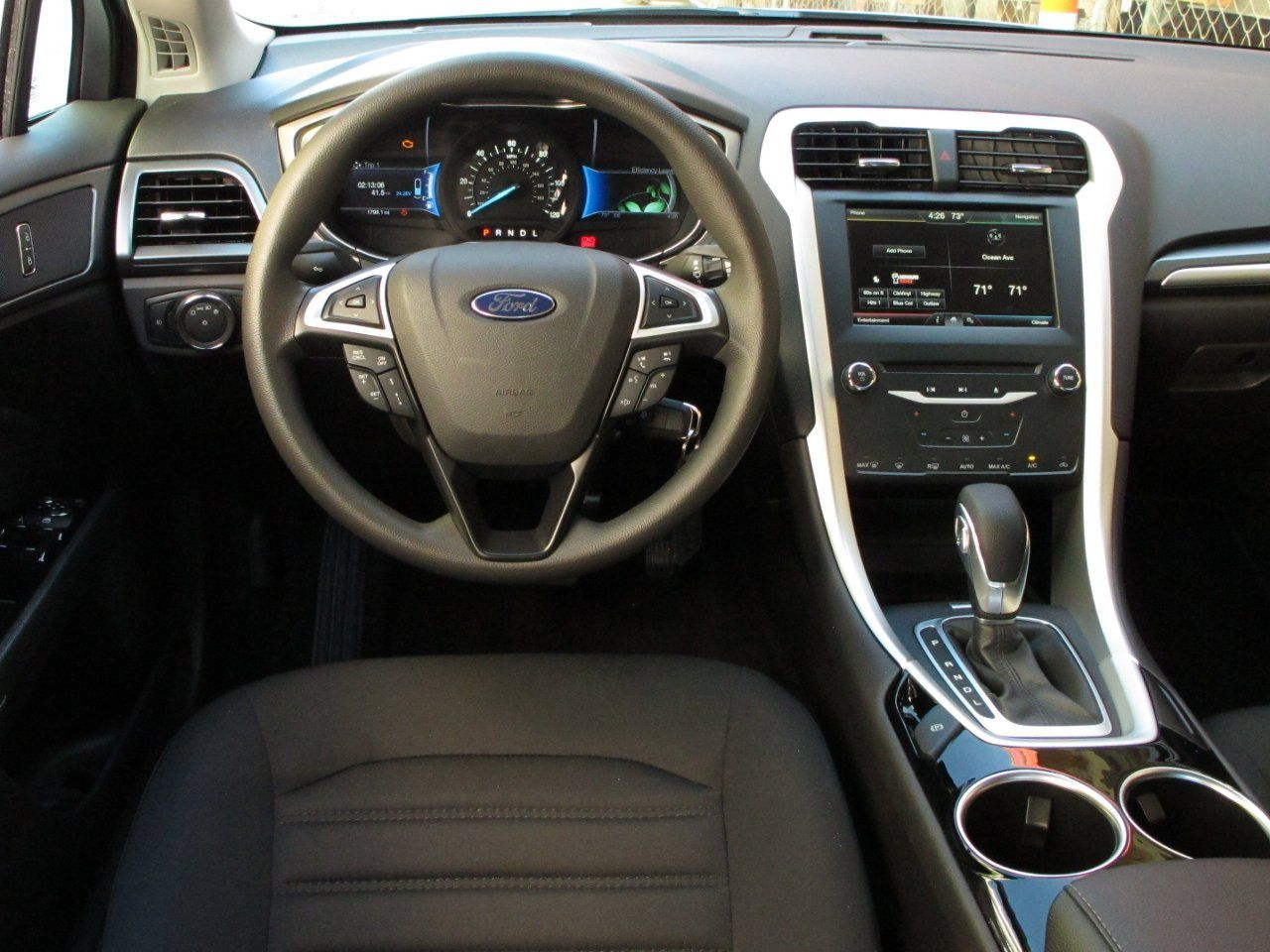 2013 Ford Fusion Hybrid Dashboard Car Latest Cars Wallpapers