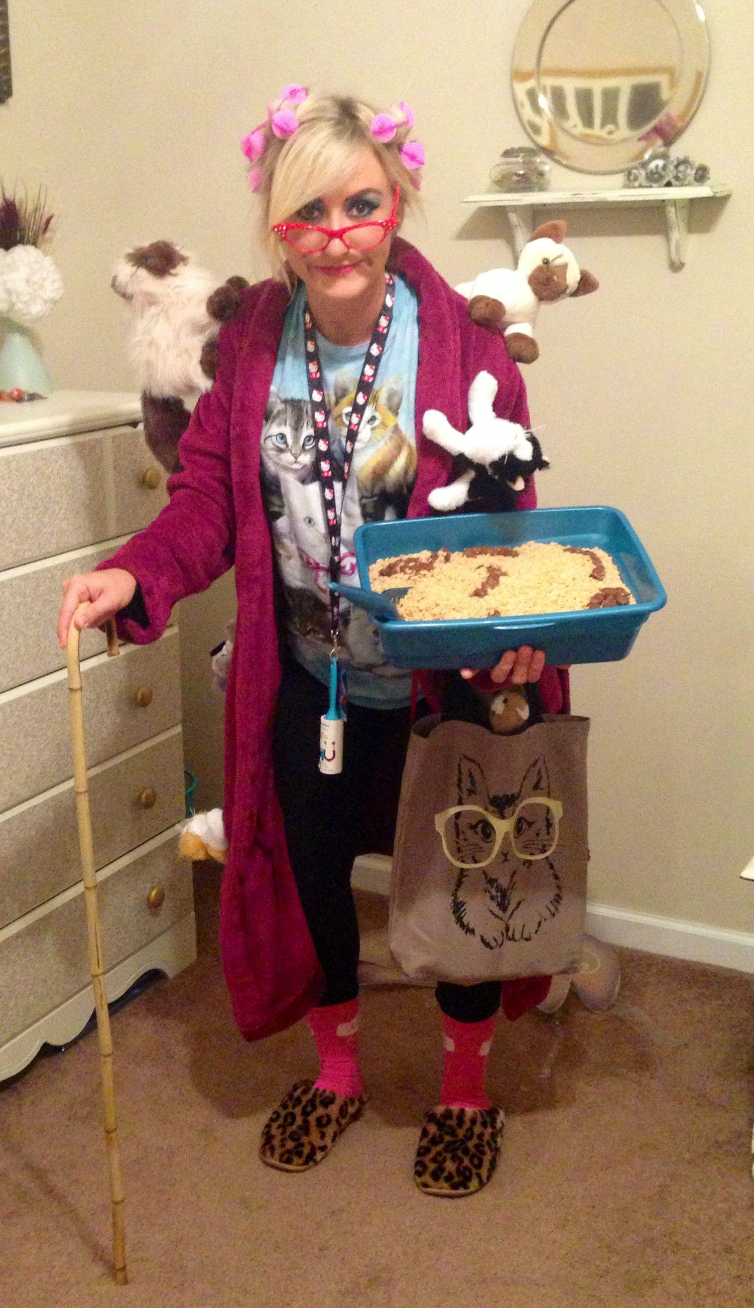 Crazy Cat Lady Costume lolz | Halloween ideas | Pinterest | Crazy ...
