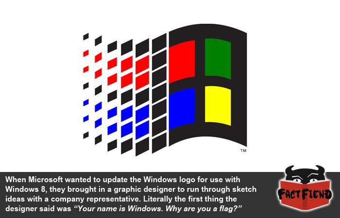 Why Did The Old Windows Logo Look Like A Flag Fact Fiend Windows Nt Microsoft Windows Web Design Software