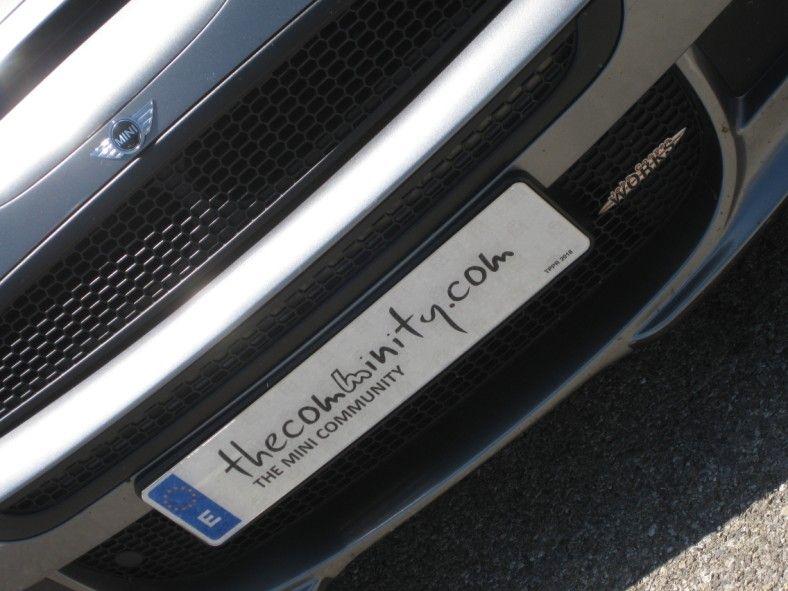 License plate TCM