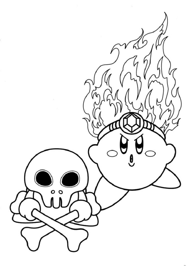 Coloring Pages Kirby Star Allies Coloring Pages