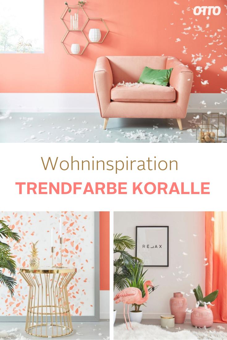 Setze in deinem Wohnzimmer Akzente mit der Trendfarbe