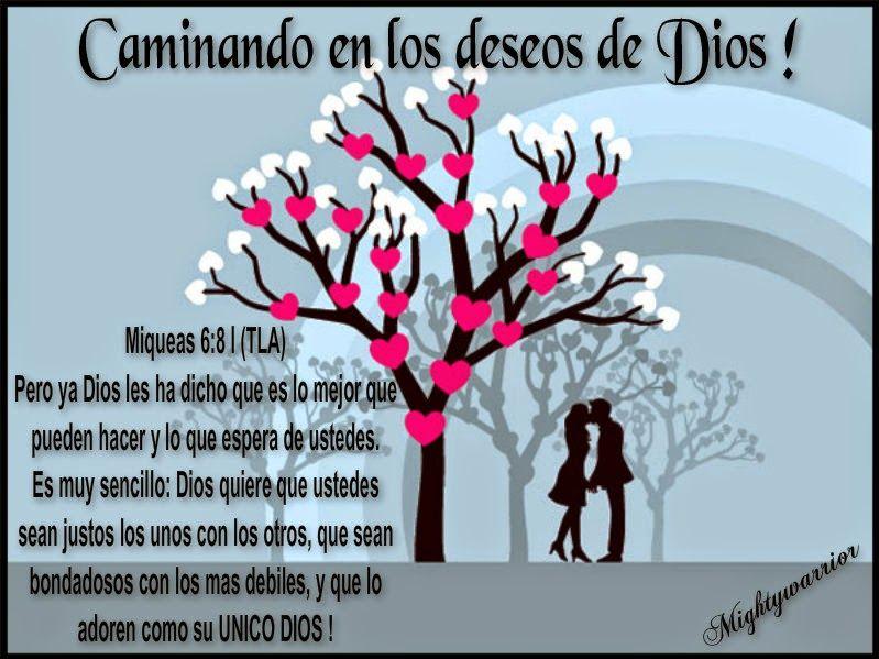 """JESUS PODEROSO GUERRERO: Miqueas 6:81~~~"""" Caminando en los deseos de Dios"""""""
