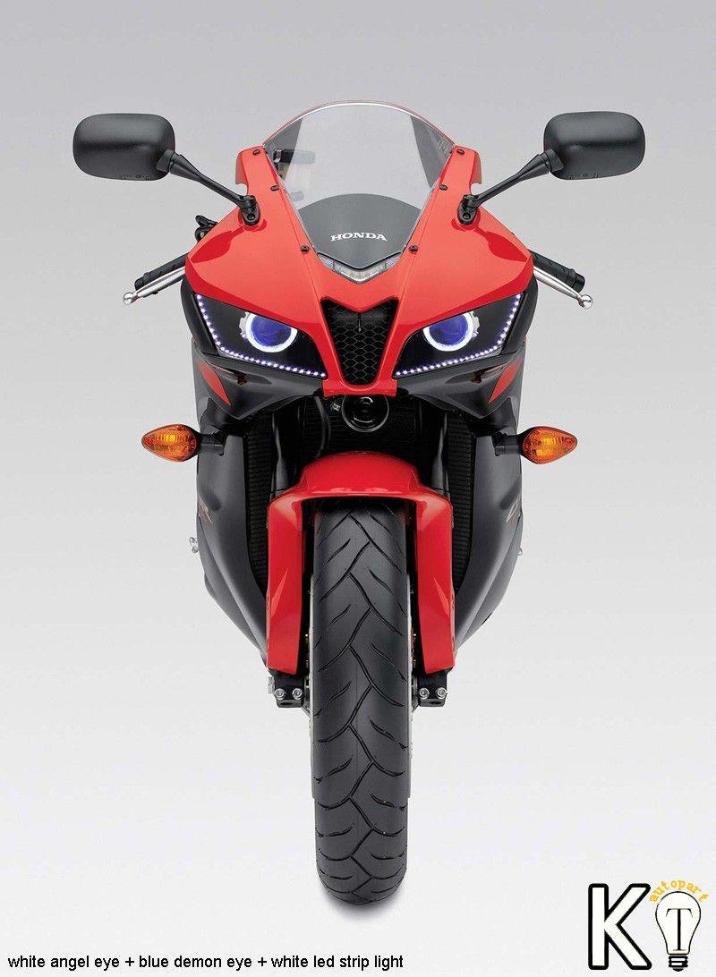 Honda CBR600RR Custom Headlight Assembly Angel eye HID