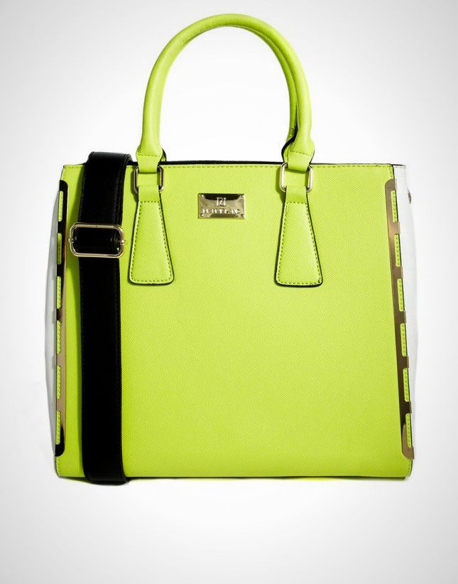 Get on Trend: 16 Neon Purses, Totes and Clutches via Brit + Co