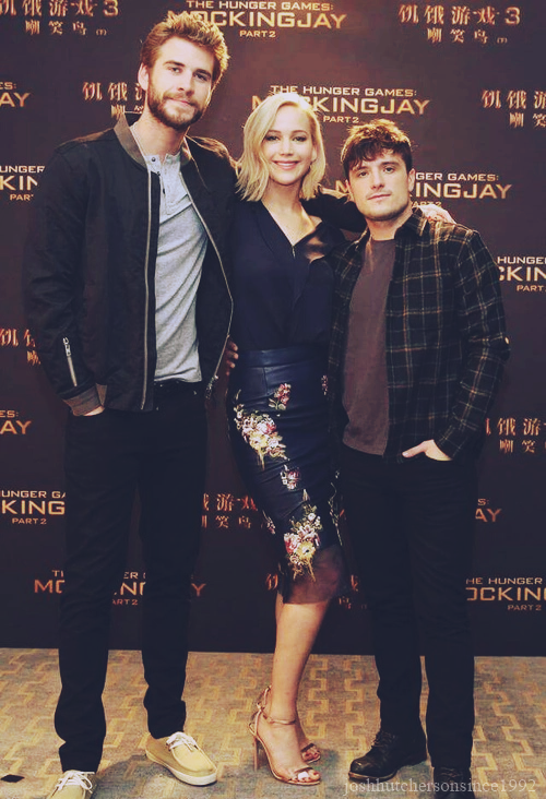 Josh Hutcherson | Hunger games jennifer, Jennifer lawrence ...