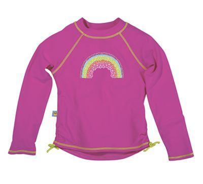 b5710b8ebb Sun Smarties Long Sleeve Rainbow Rash Guard   Girls Swimwear