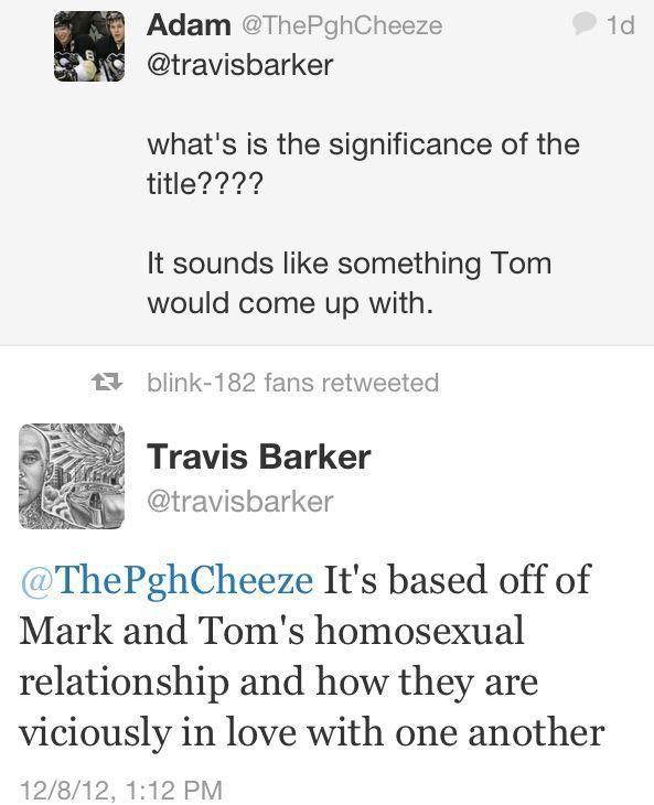 Oh Travis :D