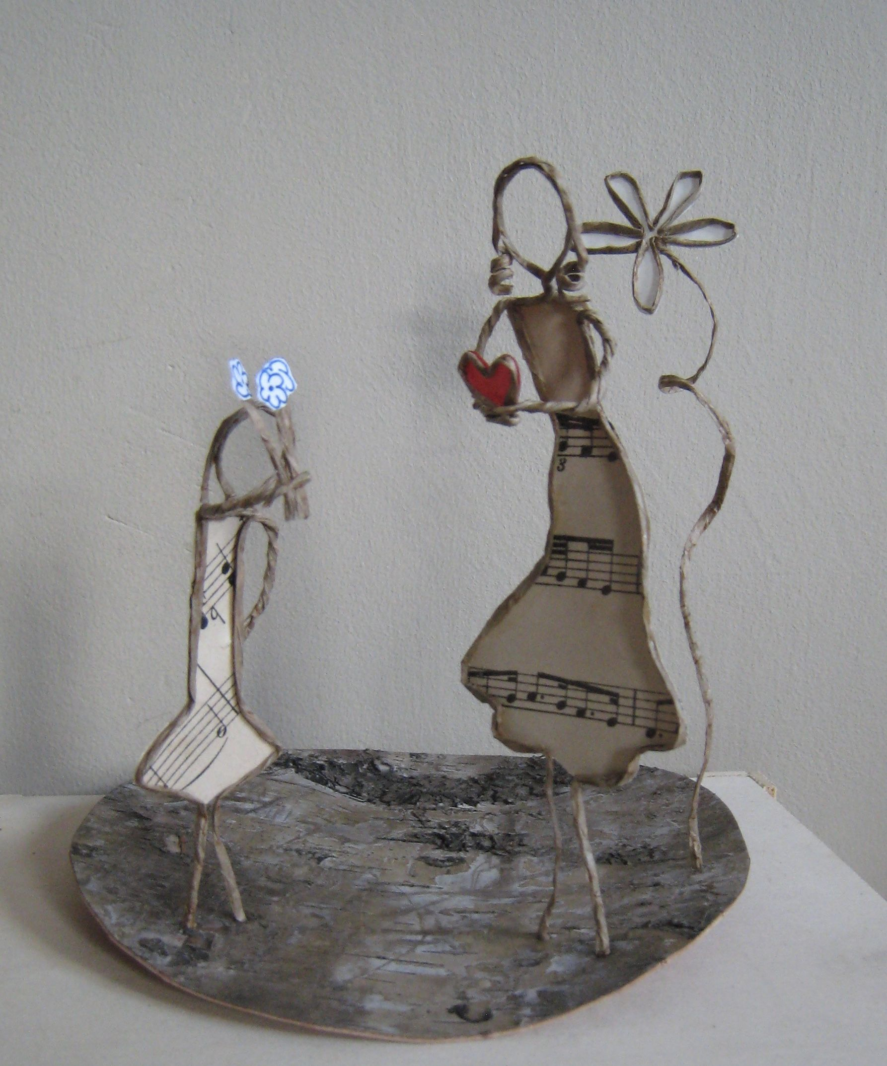 Pin von Martina Grafe auf Papierdrahtfiguren | Pinterest | Draht
