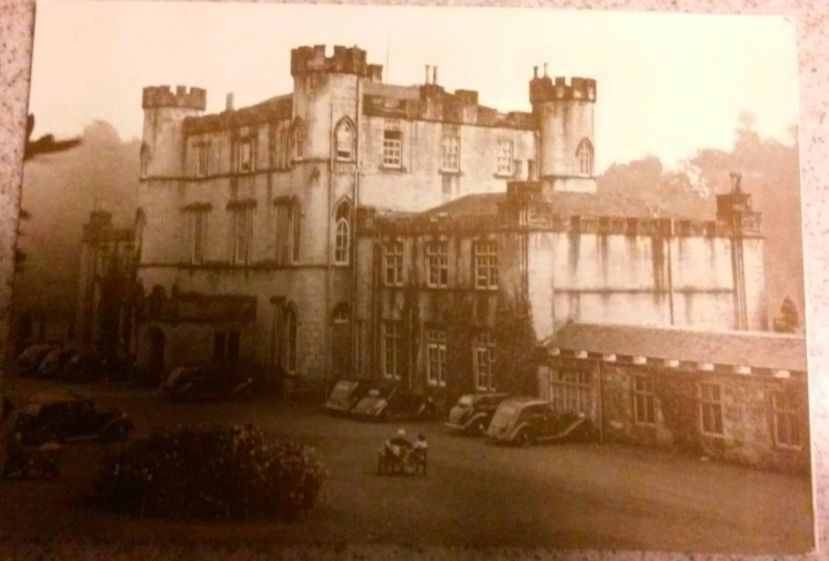 Greetings From Melville Castle Hotel Near Edinburgh Scotland Post Card