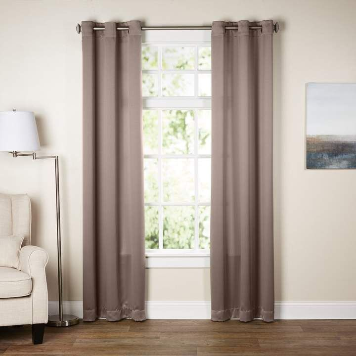 Wayfair Basics Goodman Solid Blackout Grommet Single Curtain Panel Curtains Living Room Windows Blackout Curtains