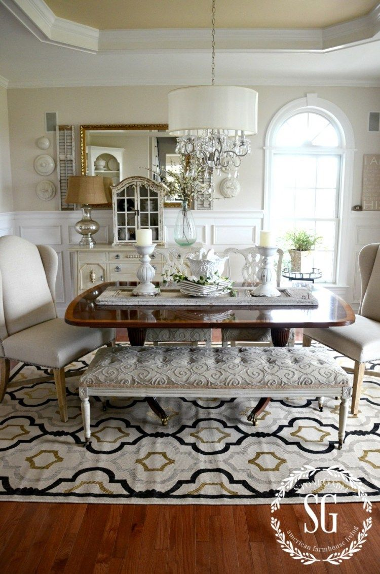 5 RULES FOR CHOOSING THE PERFECT DINING ROOM RUG ...