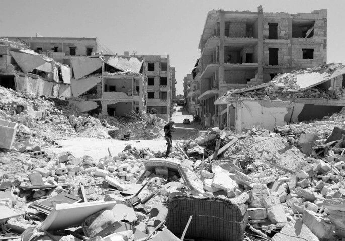 Chaos - War on Terrorism. Handig want de wapenindustrie moet toch ergens haar spul inzetten.