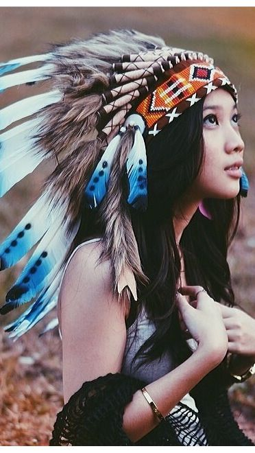Native American Girl Headdress 1000+ images about Ind...