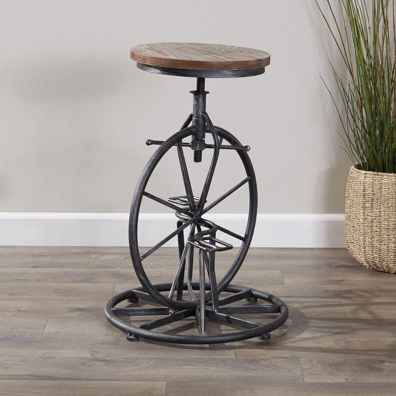 bryana adjustable height swivel bar stool  bar stools