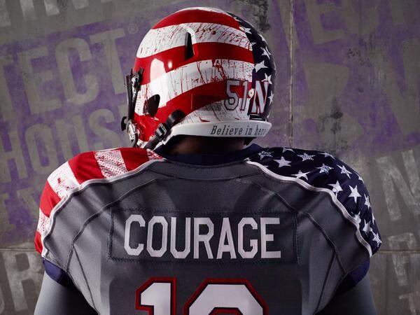 Northwestern Unveils Usa Uniforms Football Uniforms Cool