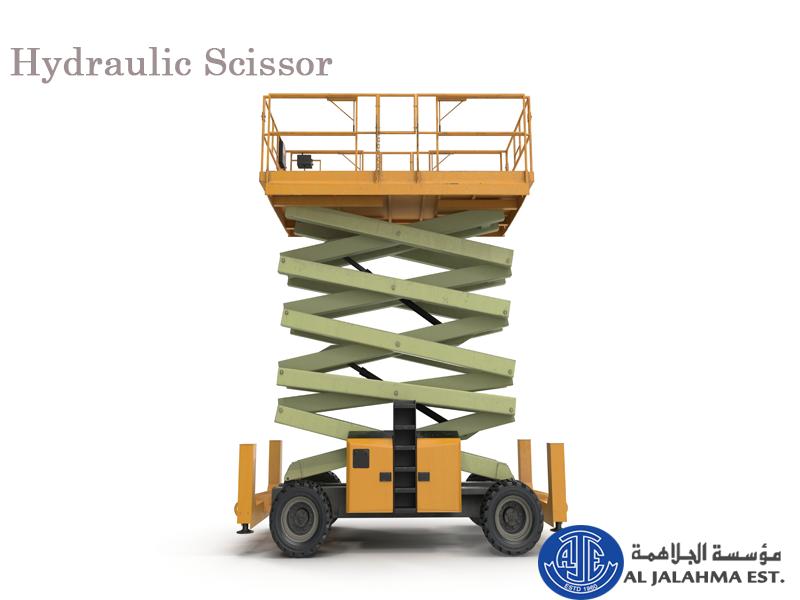 Hydraulic Scissor By using a scissor lift, one avoids