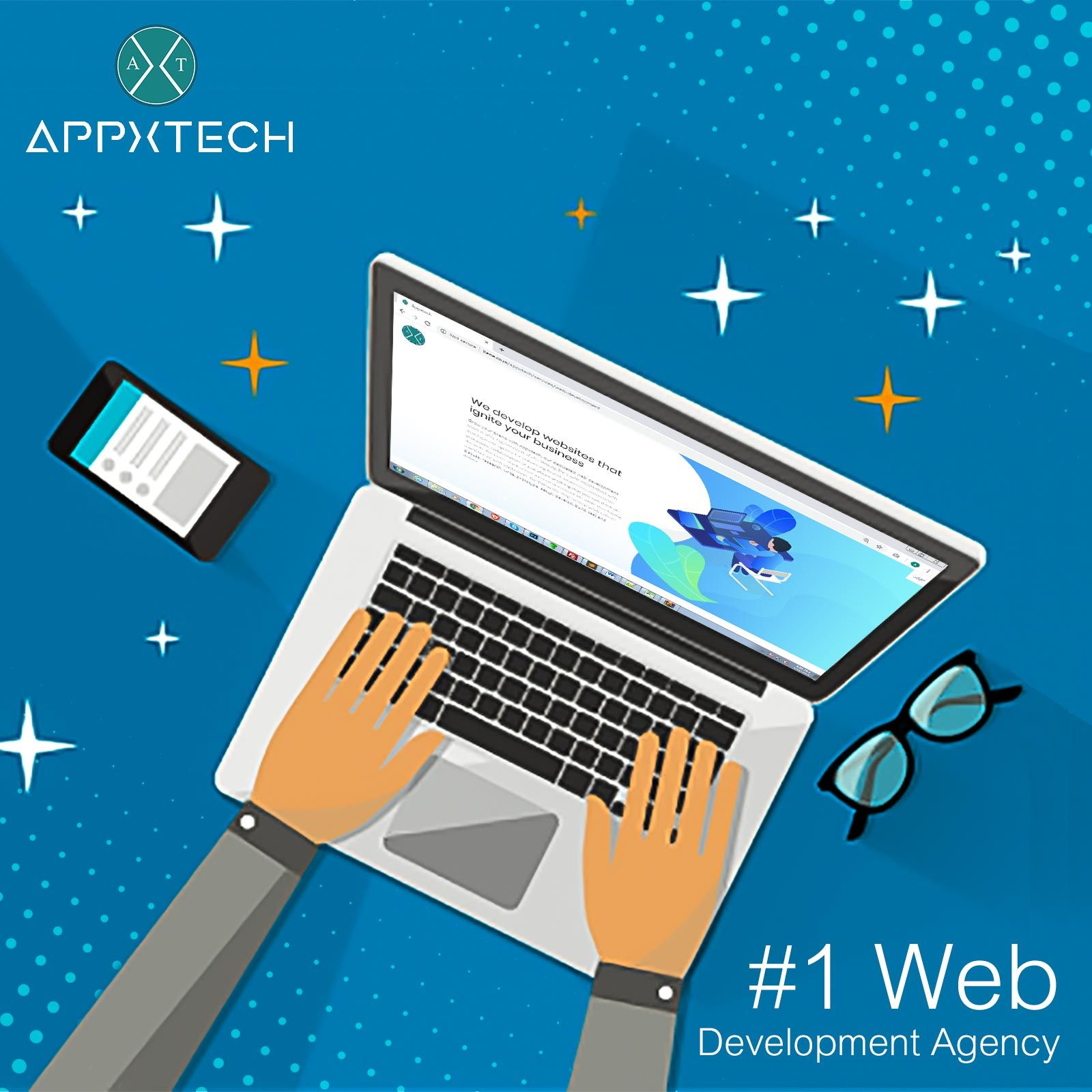 Web Designing And Development Company Usa Appxtech Web Development Web Development Agency Development
