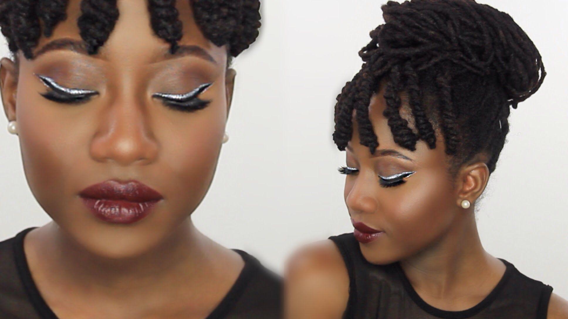 GLITTER GLAM MAKEUP TUTORIAL JASMINE ROSE how to black