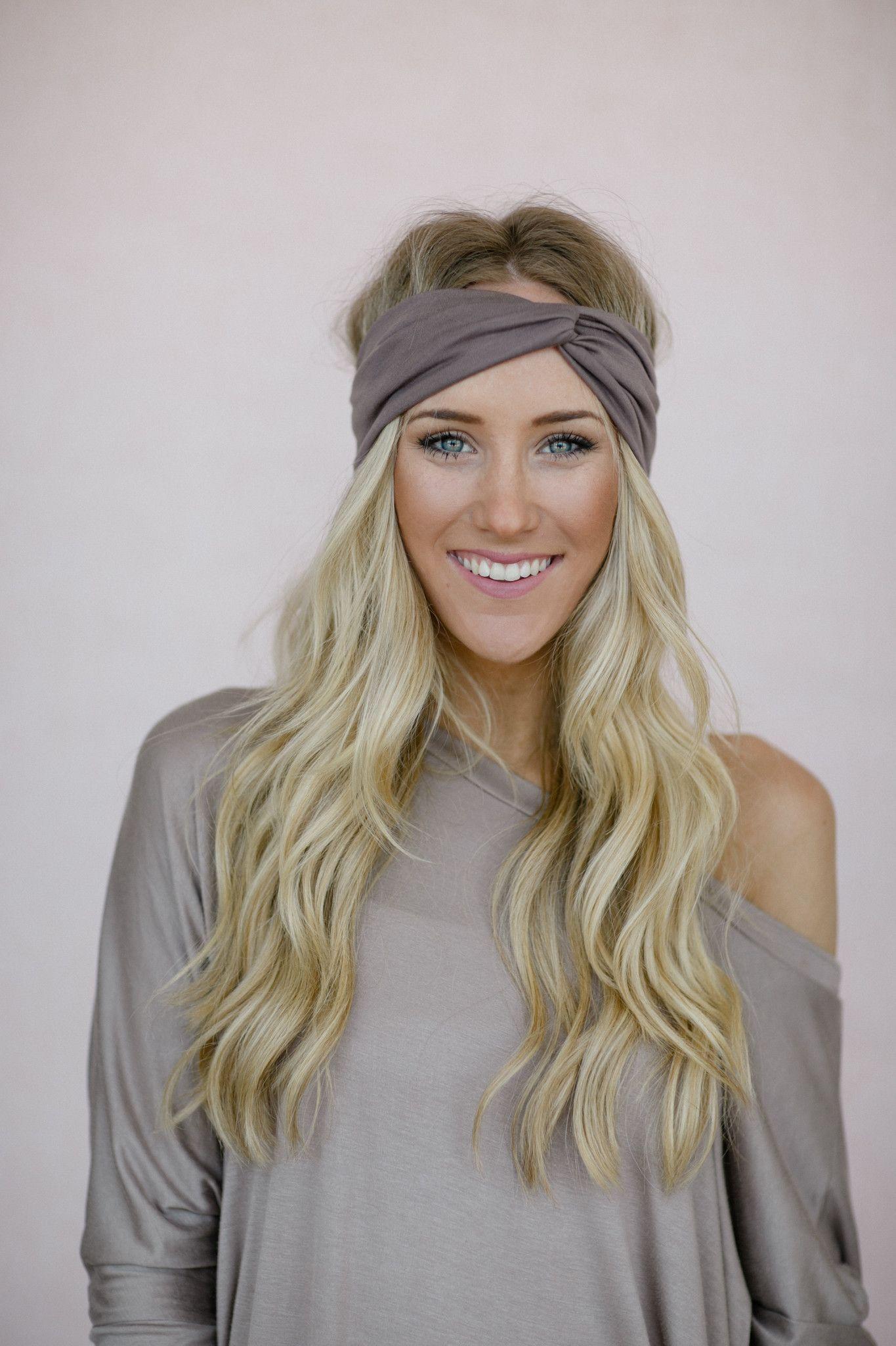 Mocha turband headband by three bird nest womenus bohemian