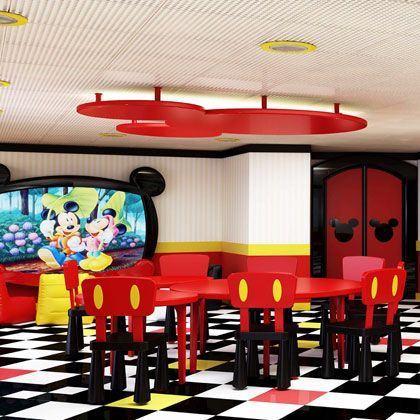 Mickey Mouse Club ~My Dream Dining Room, lol!