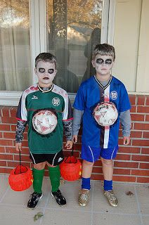 Nc Youth Soccer S Zombie Costume Kids Scary Halloween Costumes Soccer Player Halloween Costume