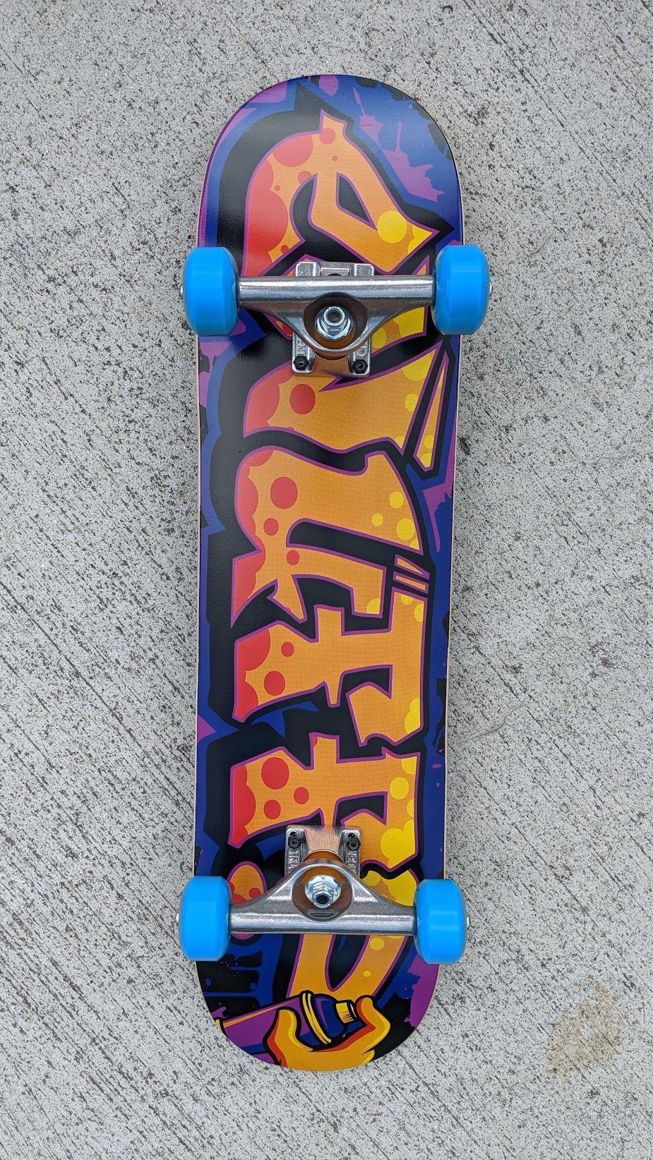 Enuff Graffiti Orange X Independent Mini Junior Custom Complete Skateboard 7 25 In 2020 Mini Skateboard Skateboard Mini