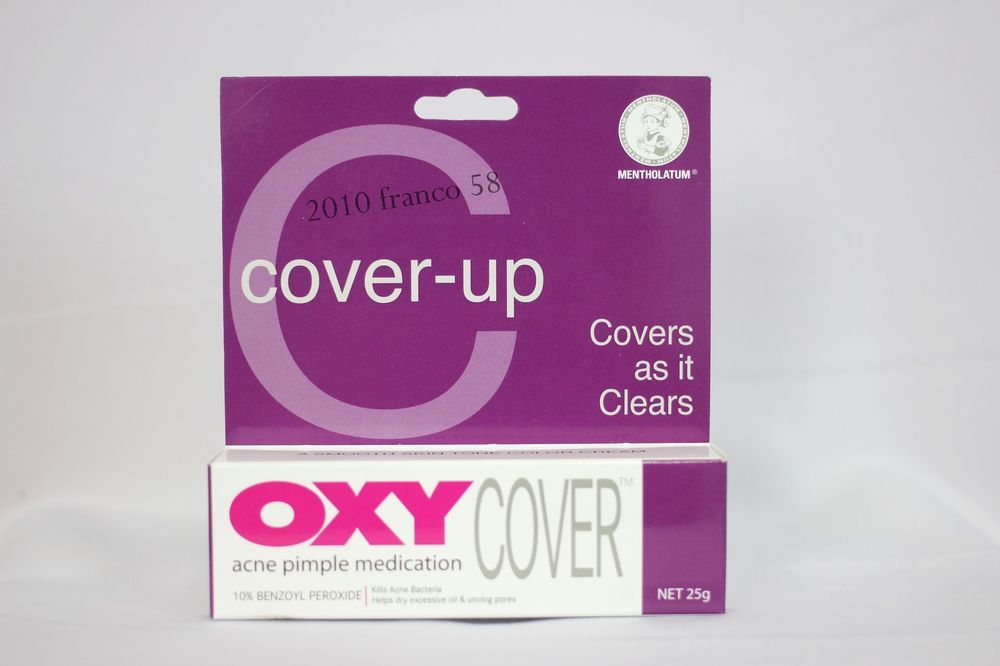 *25g* OXY Cover Acne Pimple Medication 10% Benzoyl Peroxide Maximum Strength  #oxycover #AcnePimpleTreatment