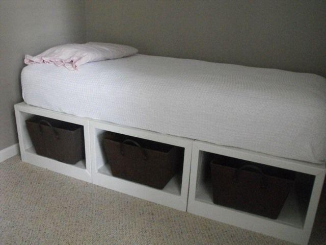 Diy Storage Daybed Diy Storage Bed Daybed With Storage Diy Daybed