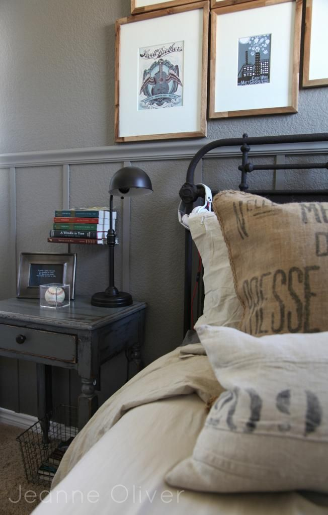 Teen boy bedroom makeover before and after jeanne - Industrial bedroom furniture sets ...