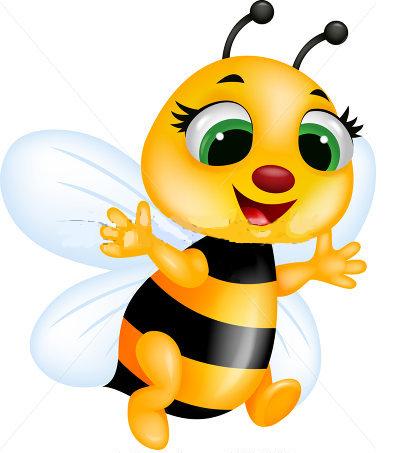 Planse De Colorat Si Fise Pentru Copii Bee Clipart Bee Illustration Cartoon Bee