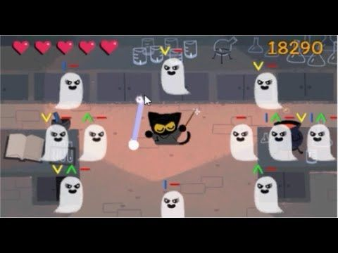 Google Secret Game - How To Play It -Google halloween game ...