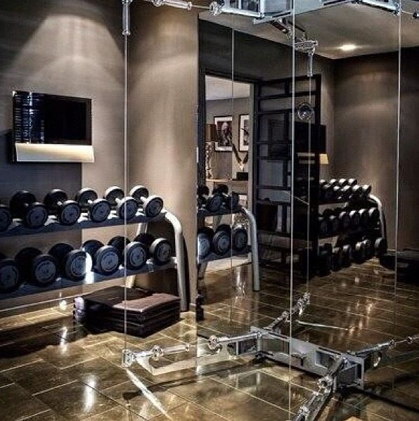 Home Gym Design Ideas: Http://amzn.to/2fSI5XT