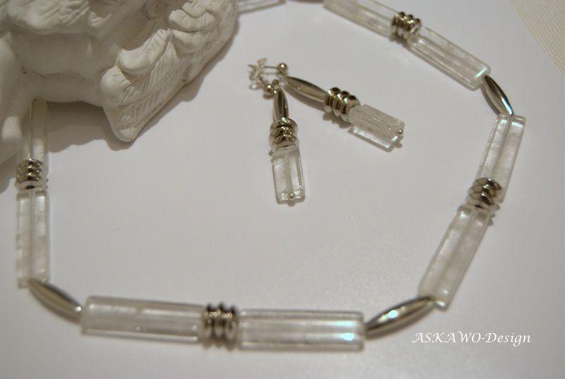 Bergkristall+Schmuckset+von+ASKAWO-Design+auf+DaWanda.com