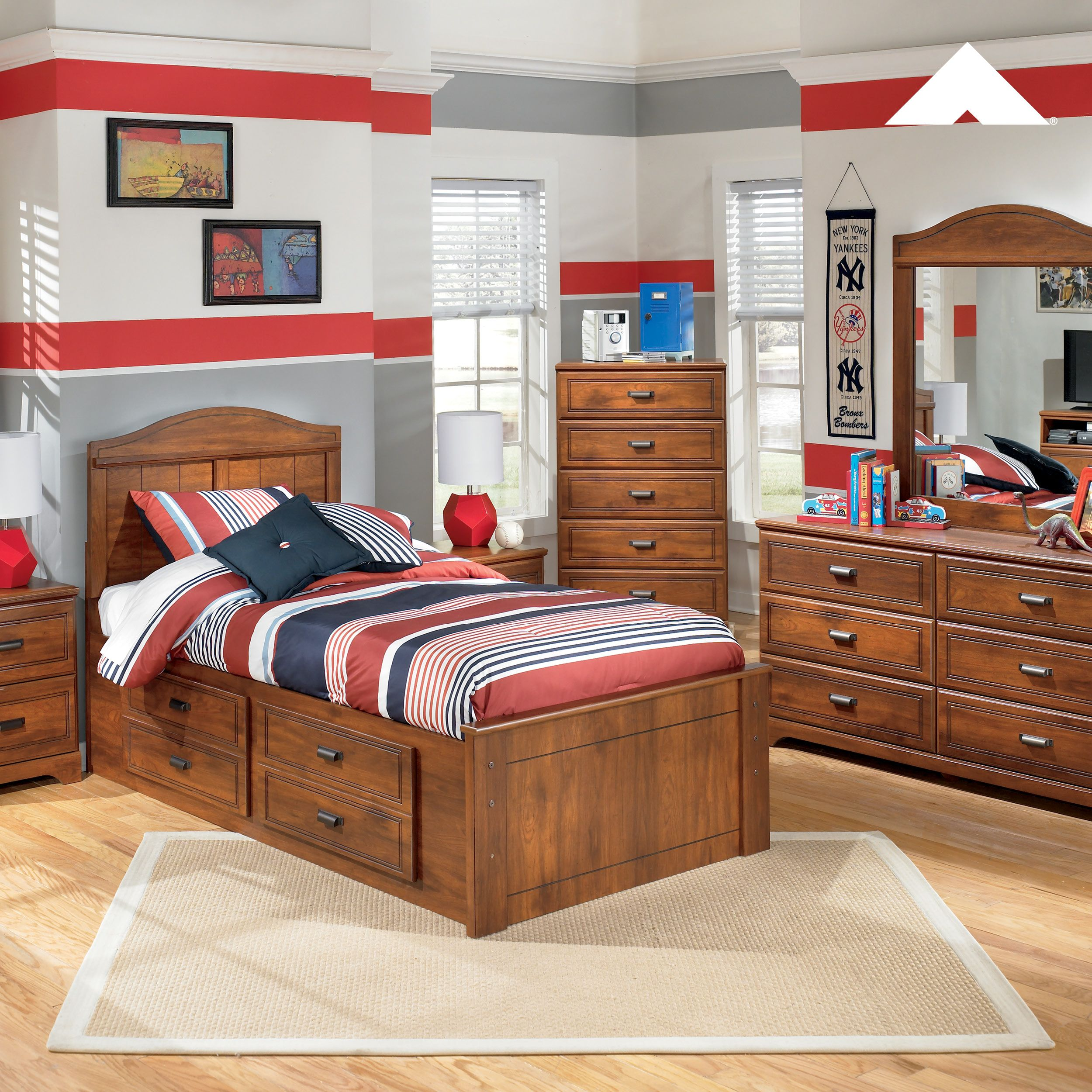 Barchan Medium Brown Bedroom Set By Ashley Furniture