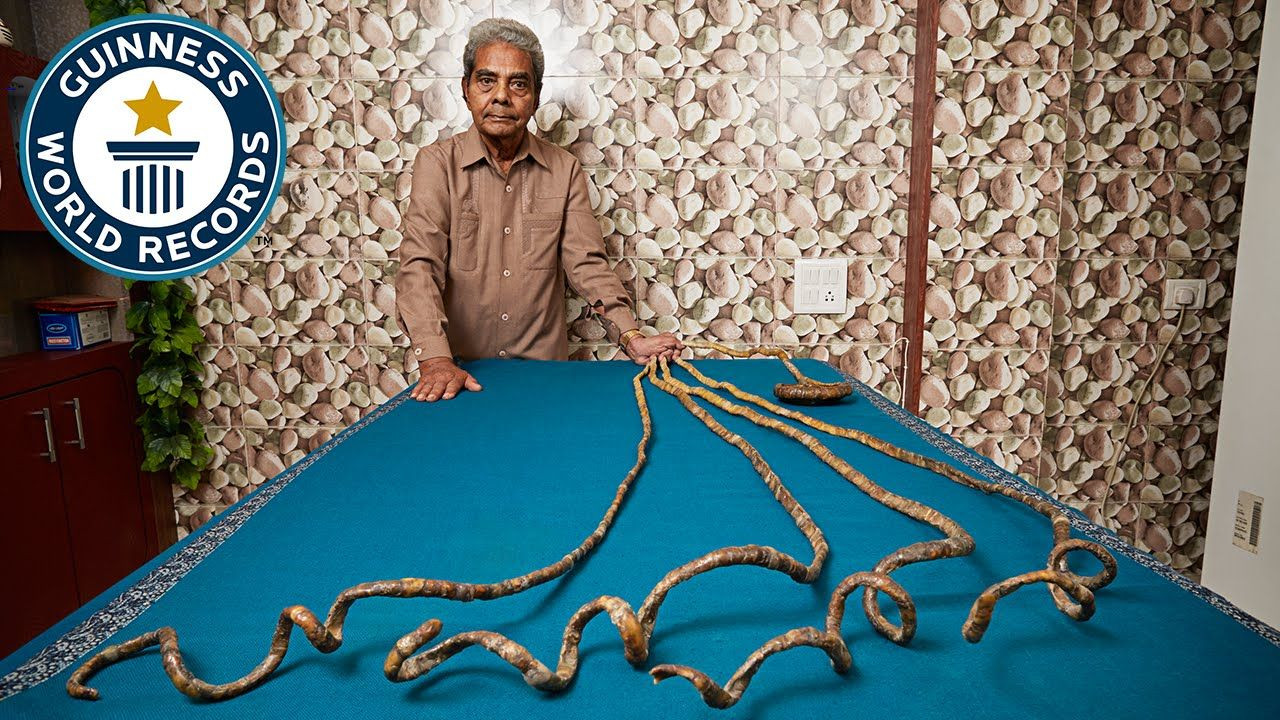 he appears in the guinness world records 2016 book with the record title for longest fingernails on