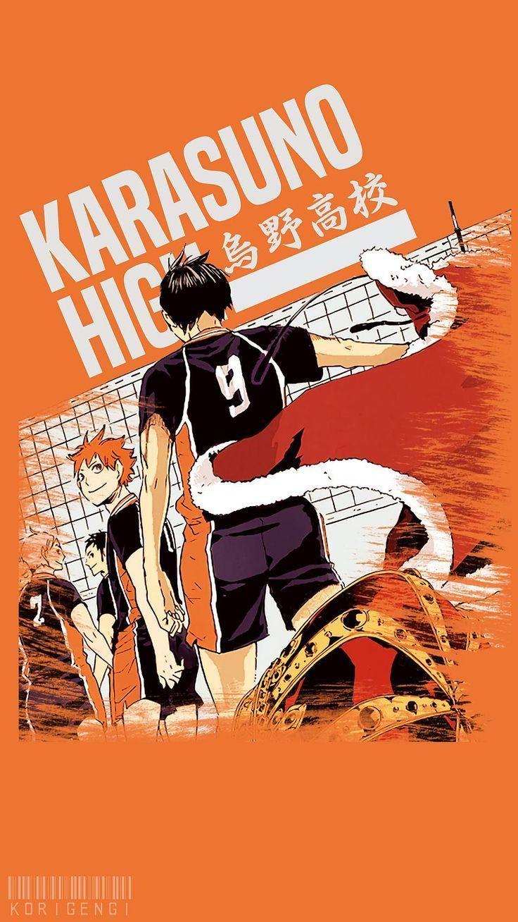 Haikyuu Phone Wallpaper In 2020 Haikyuu Wallpaper Haikyuu Anime Haikyuu Karasuno