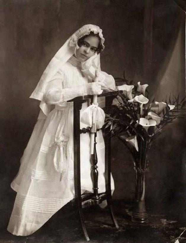 Frida Kahlo na infancia
