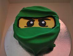 The Green Ninja Lego Ninjago Cake With Images Lego Ninjago