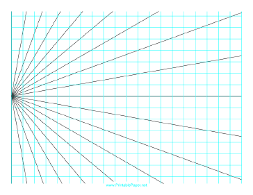 Printable Perspective Grid 1 Point Left Landscape Drawing Grid Opt Art Perspective