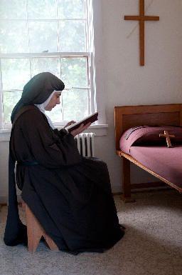 monestary cell | Carmelite Monastery of Santa Fe | Carmelite Nuns