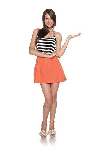 Faldas frescas con vuelo 2015 5 | Faldas de moda