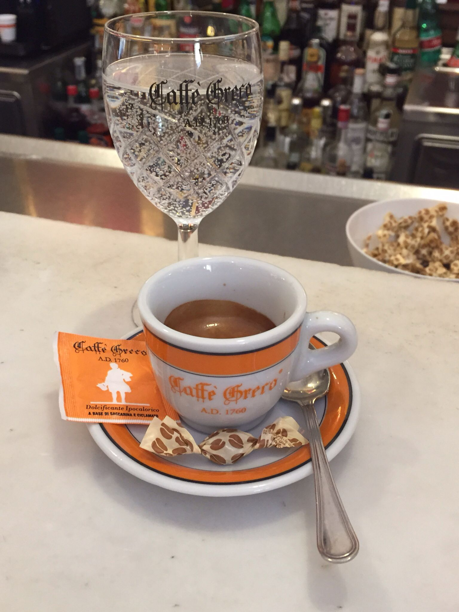 Al caffè greco....