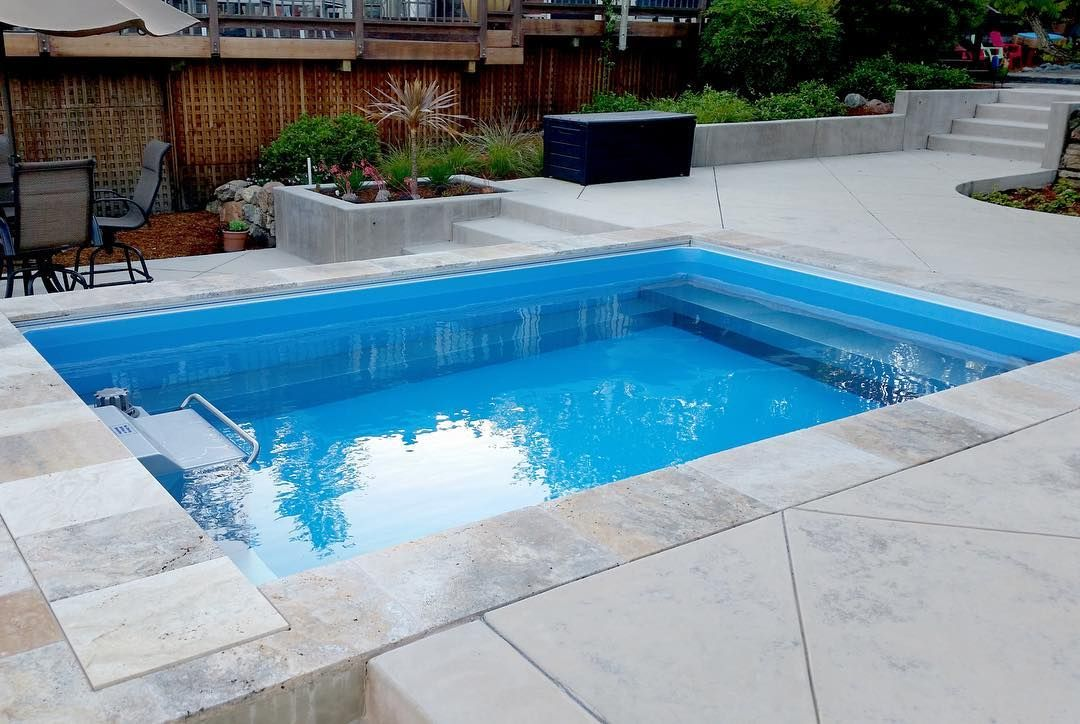 The Original Endless Pool lets you swim in place against the ...