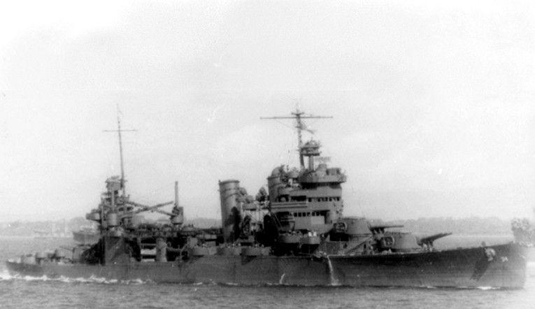 Cv 16 Usn Naval History Heavy Cruiser
