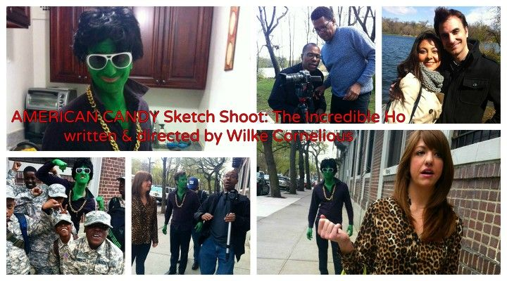 Images from our 2nd Sketch Shoot: The Incredible Ho by Wilke Cornelius. Making it Happen!  #FUNDtheFUNNY #MakingCANDY
