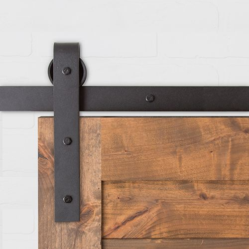 The Weathered Panel Barn Door is made from hand-picked reclaimed lumber with au2026 & The Weathered Panel Barn Door is made from hand-picked reclaimed ...