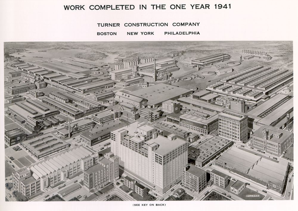 Turner City 1941 Construction Company City Construction