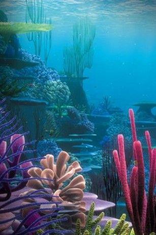 underwater painting - Google Search | Underwater | Underwater painting, Underwater art, Underwater