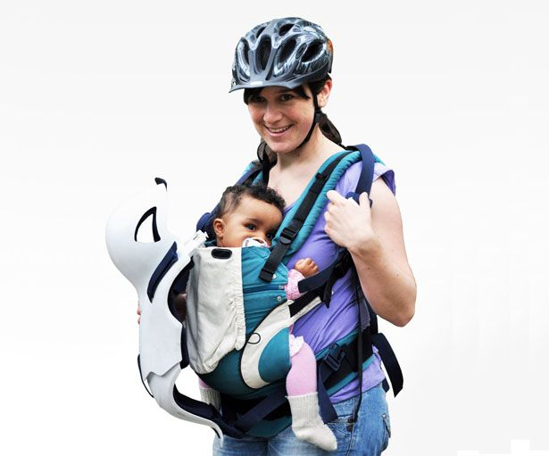 Use Igi Baby Protector When Ridin A Bike With Your Baby Tuvie Baby Bike Baby Car Seats Baby
